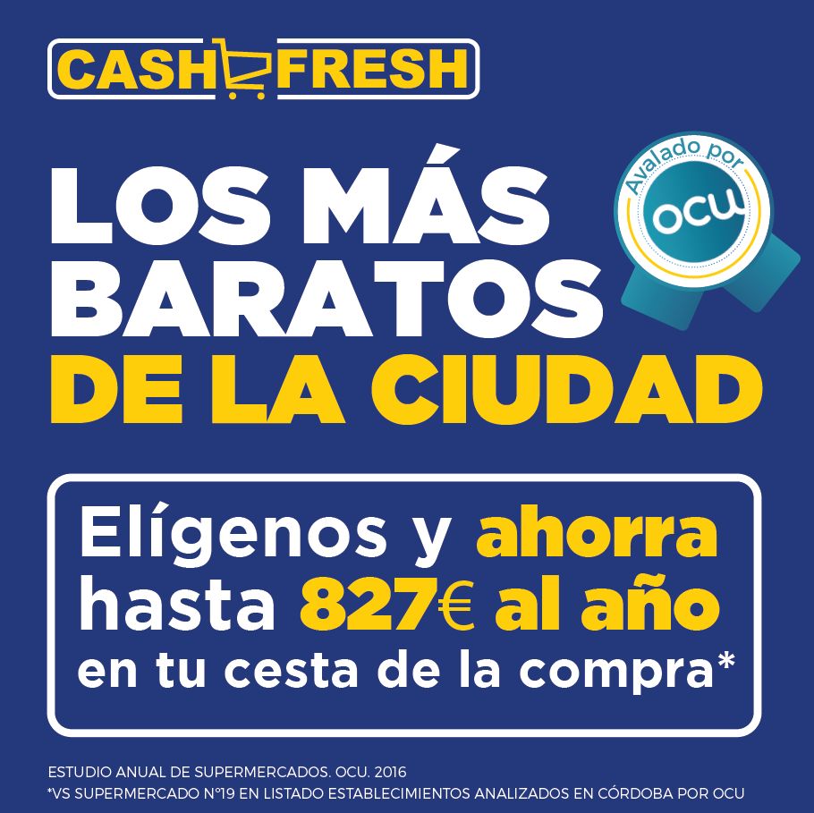 Cash fresh la cadena de supermercados regional m s barata for El sofa mas barato