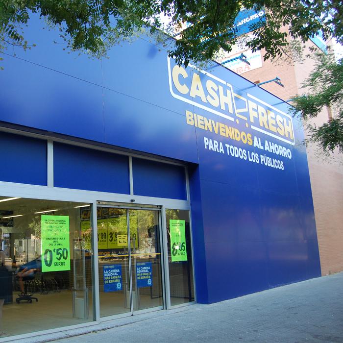 Cash Fresh ubicado en el Mercado de Sevilla Este